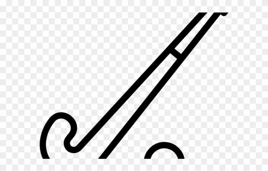 Clip Art Field Hockey Stick.