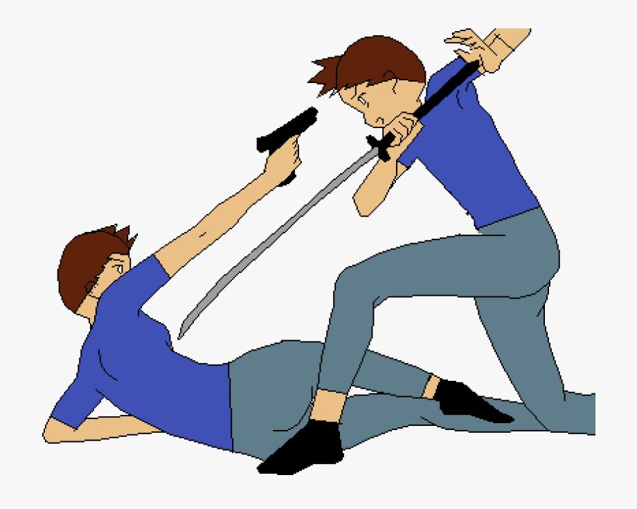 Fighting Myself, Cliparts & Cartoons.