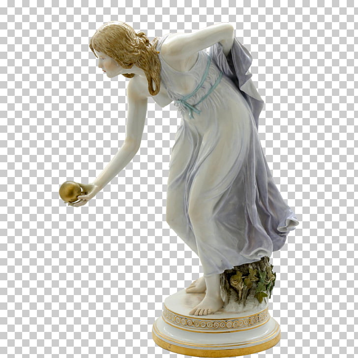 Meissen porcelain Figurine Bisque porcelain, art deco PNG.