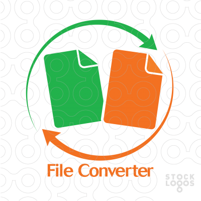 Exclusive Customizable Logo For Sale: File Converter.