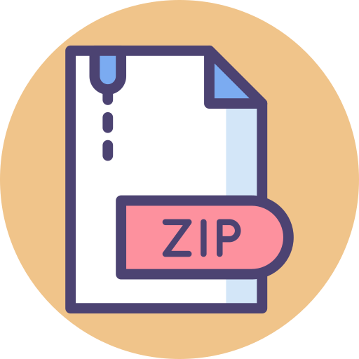 Zip file.