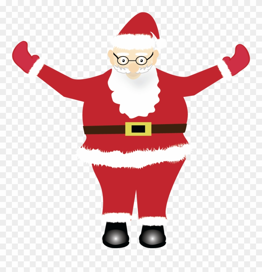Print And Cut Santa Graphic File Example Image.