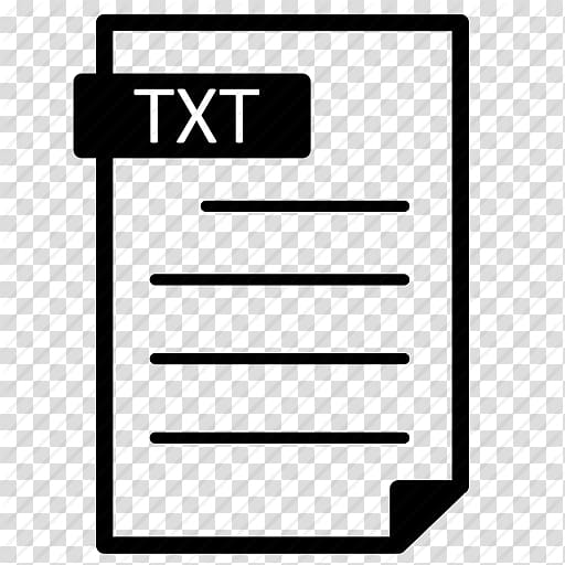 Text file Computer Icons Filename extension Document file.