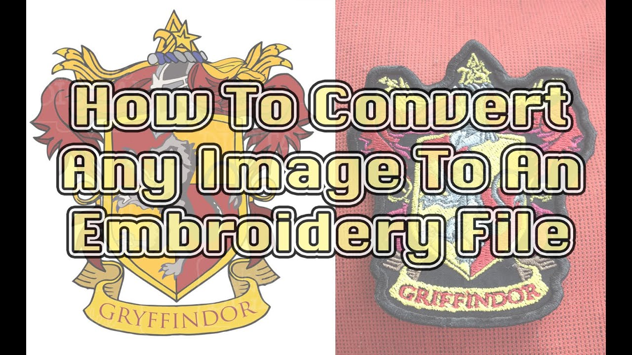 Digitizing Images for Embroidery.