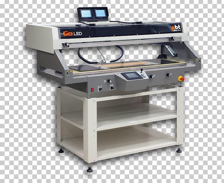 Machine Printer Screen Printing Surface.