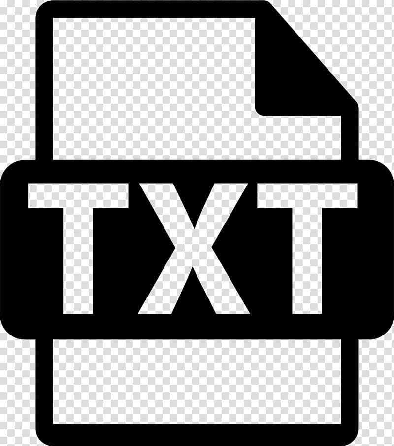 Computer Icons Video file format, Text File transparent.