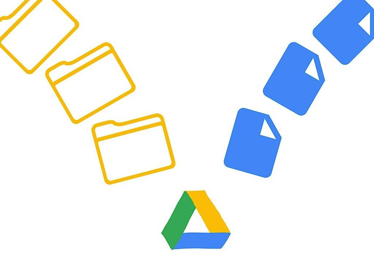 How to organize and name folders and files in Google Drive.