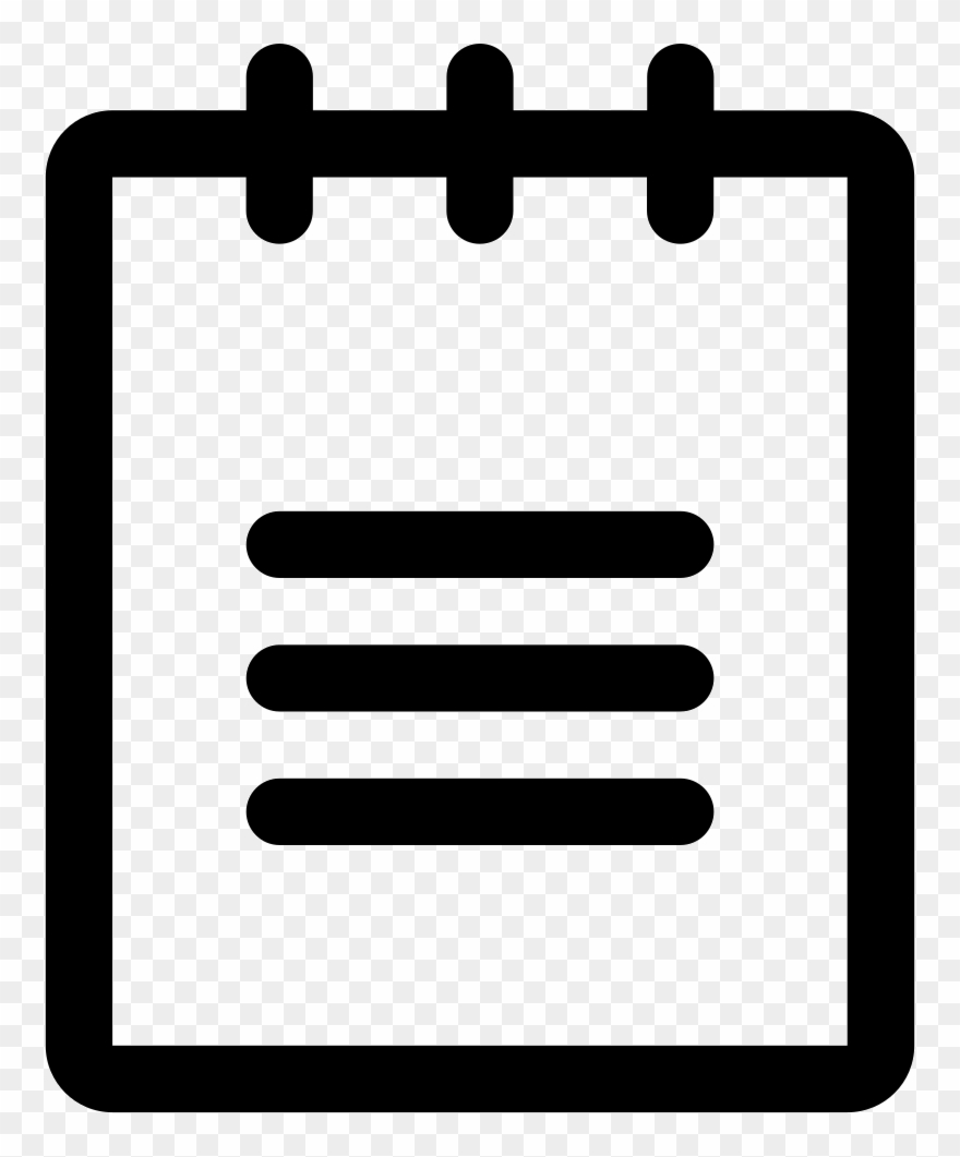 Png File In Notepad Graphic Black And White Library.