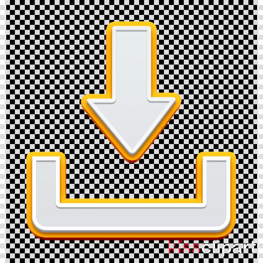 File icon web icon Download button icon clipart.