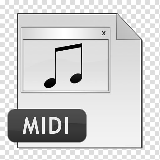 TRIX Icon Set, MIDI, midi file logo transparent background.