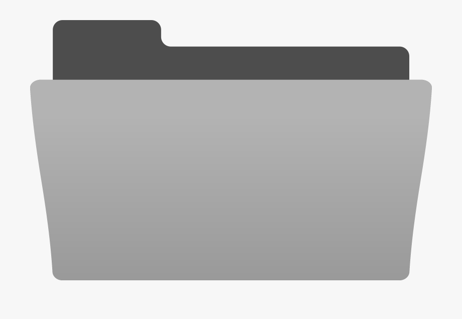 Black Folder Icon Icons Png Grey Folder Clipart.