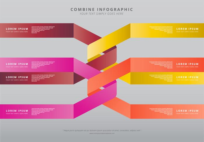 Combine Infographic Template.