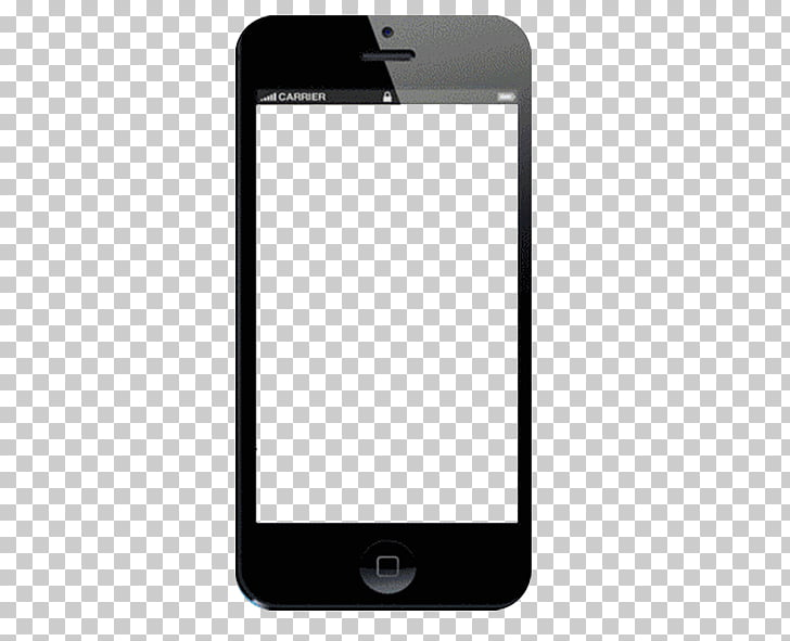 Telephone Template Android Computer file, Phone, black.
