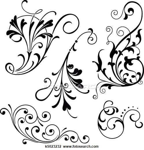 Filigree Illustrations and Clipart. 13,402 filigree royalty.