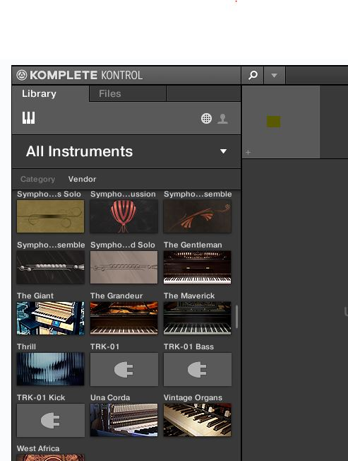 3rd party Kontakt Libraries not displaying thumbnail clip.