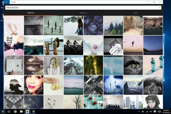 PicsArt for Windows 10 gets a big design revamp, all clipart.
