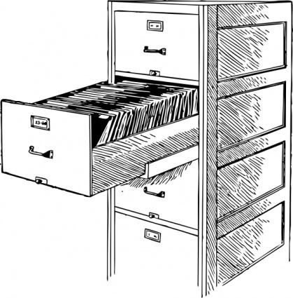 Open File Cabinet clip art clip arts, clip art.