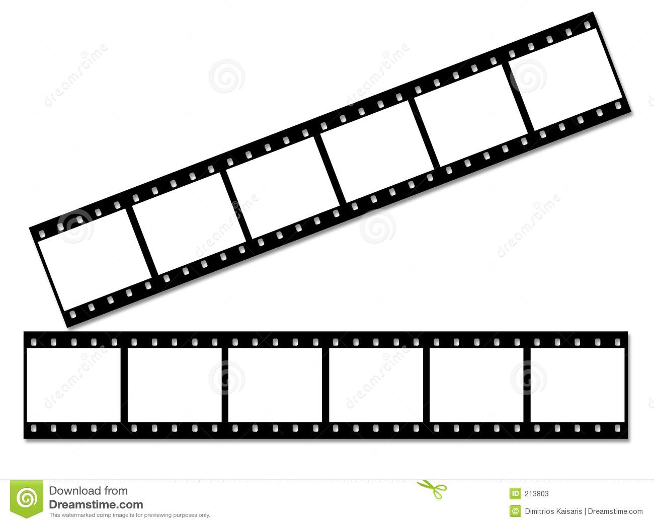 Stock Photos: Film strip.