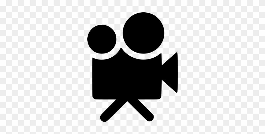 Icon Symbol Für Eine Filmkamera.