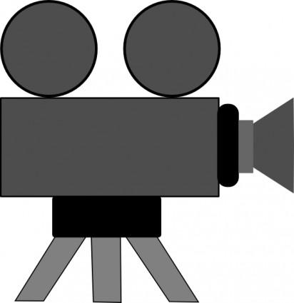 Filmkamera clipart » Clipart Station.