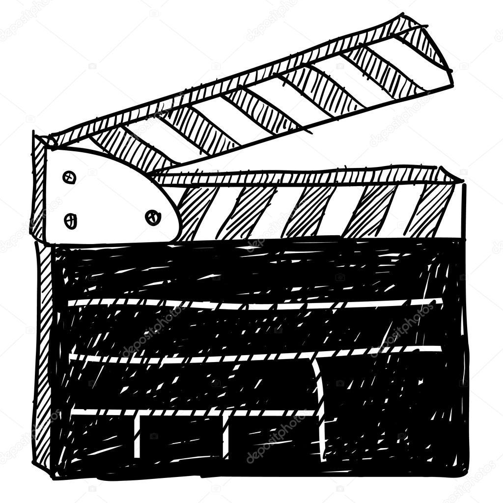 Filmklappe clipart 4 » Clipart Station.