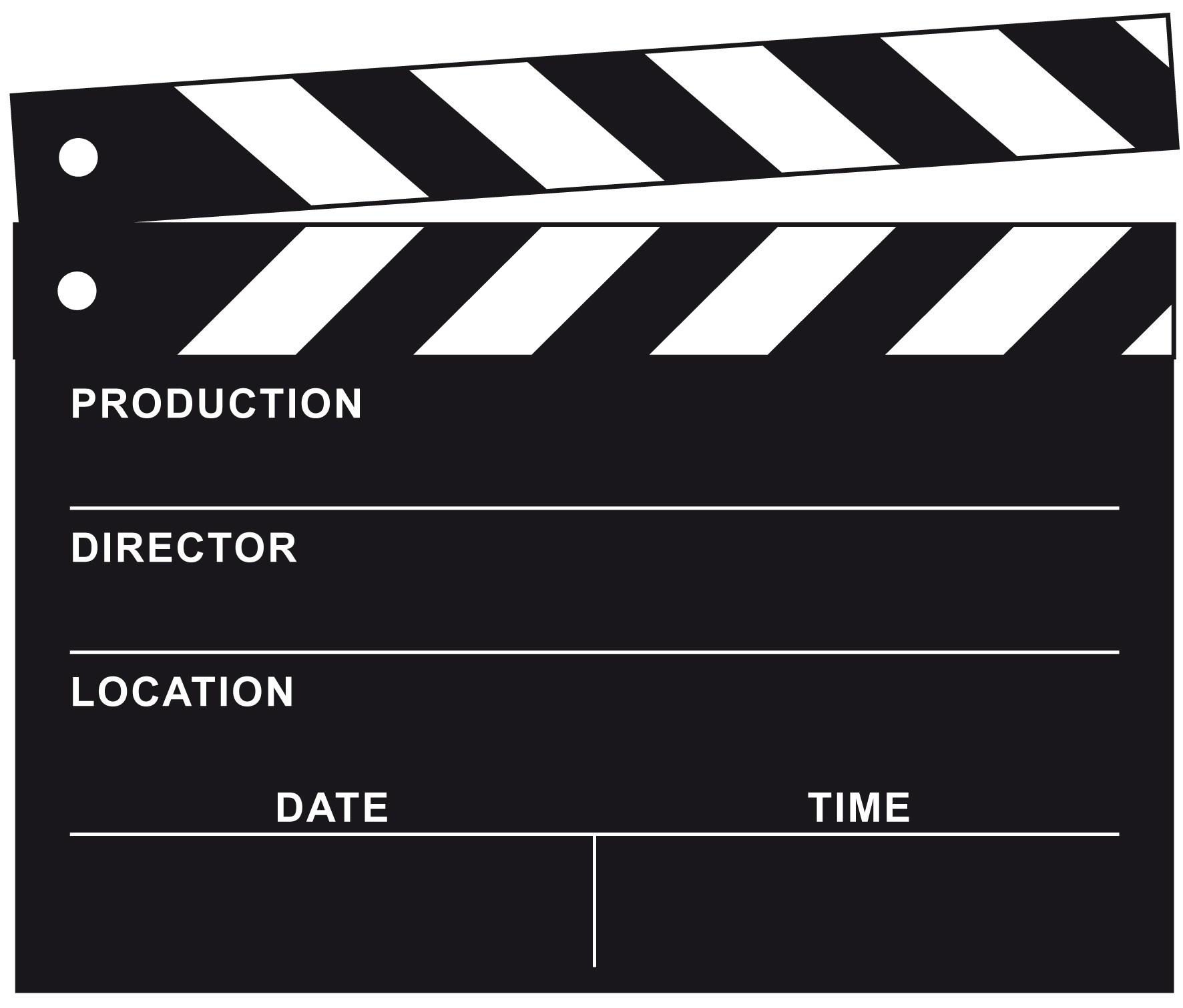 Filmklappe clipart 4 » Clipart Portal.