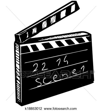 Filmklappe clipart 7 » Clipart Station.
