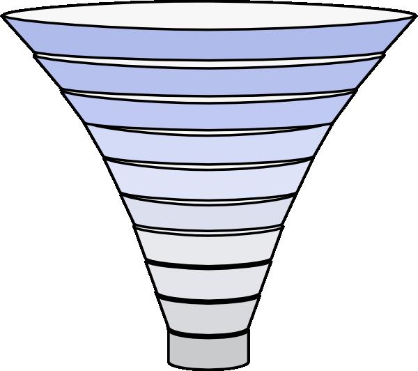 Funnel Tier Blue Filter PNG, SVG Clip art for Web.