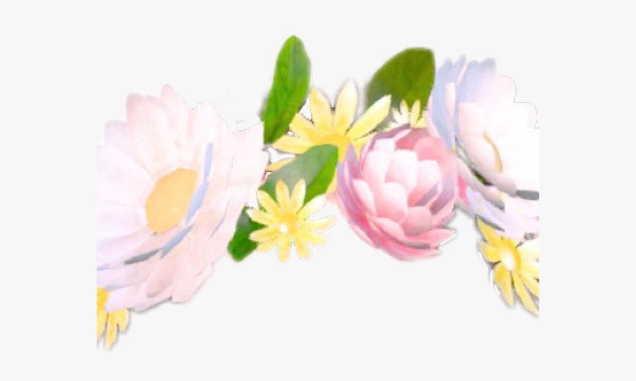 Snapchat Filters Clipart Flower Crown.