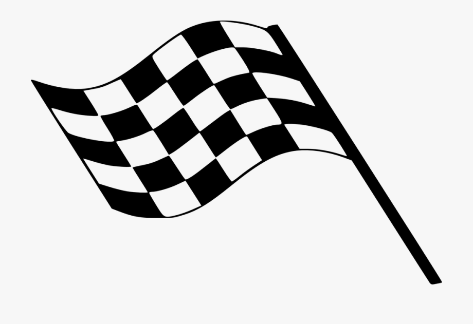 Checked Clipart Finish Line.