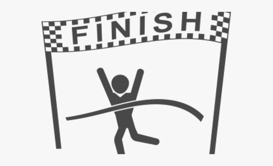 Finish Line Clipart, Cliparts & Cartoons.