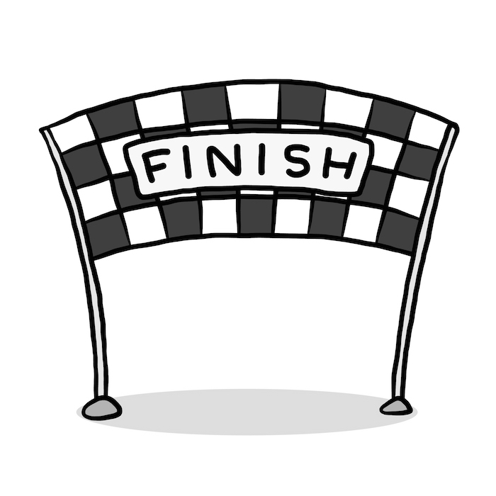 Finish Line Clipart Images.