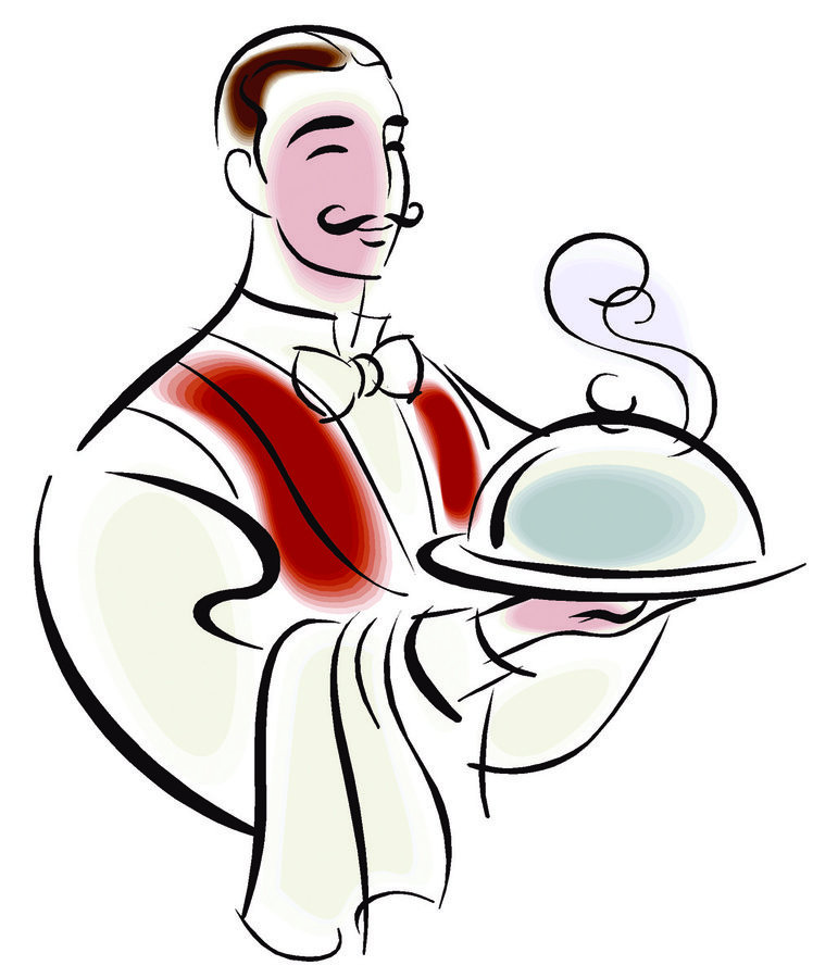 Fine Dining Clipart.