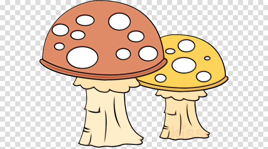 clip art cartoon mushroom fungus clipart.
