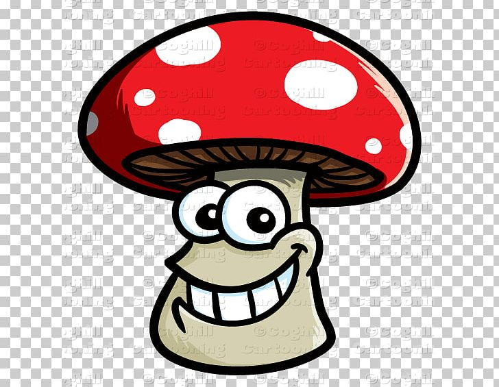 Cartoon Smile Mushroom Fungus PNG, Clipart, Artwork, Cartoon.