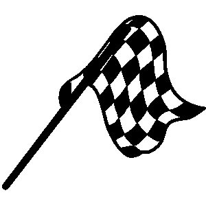 Finish Line Flag Clip Art.