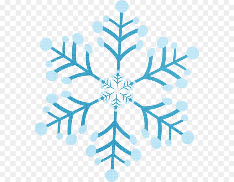 Fiocco di neve Clip art.