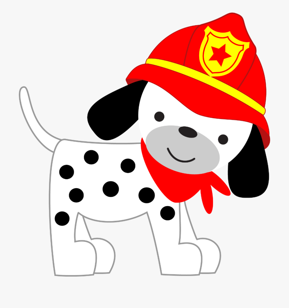Clip Royalty Free Stock Firetruck Clipart Fire Dog.