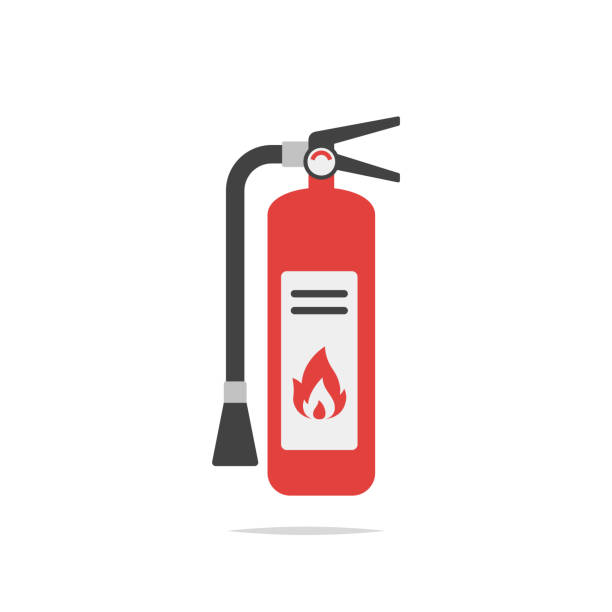 Best Fire Extinguisher Illustrations, Royalty.