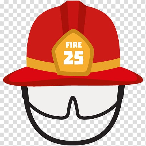 Firefighter\\\'s helmet Hat , fireman transparent background.