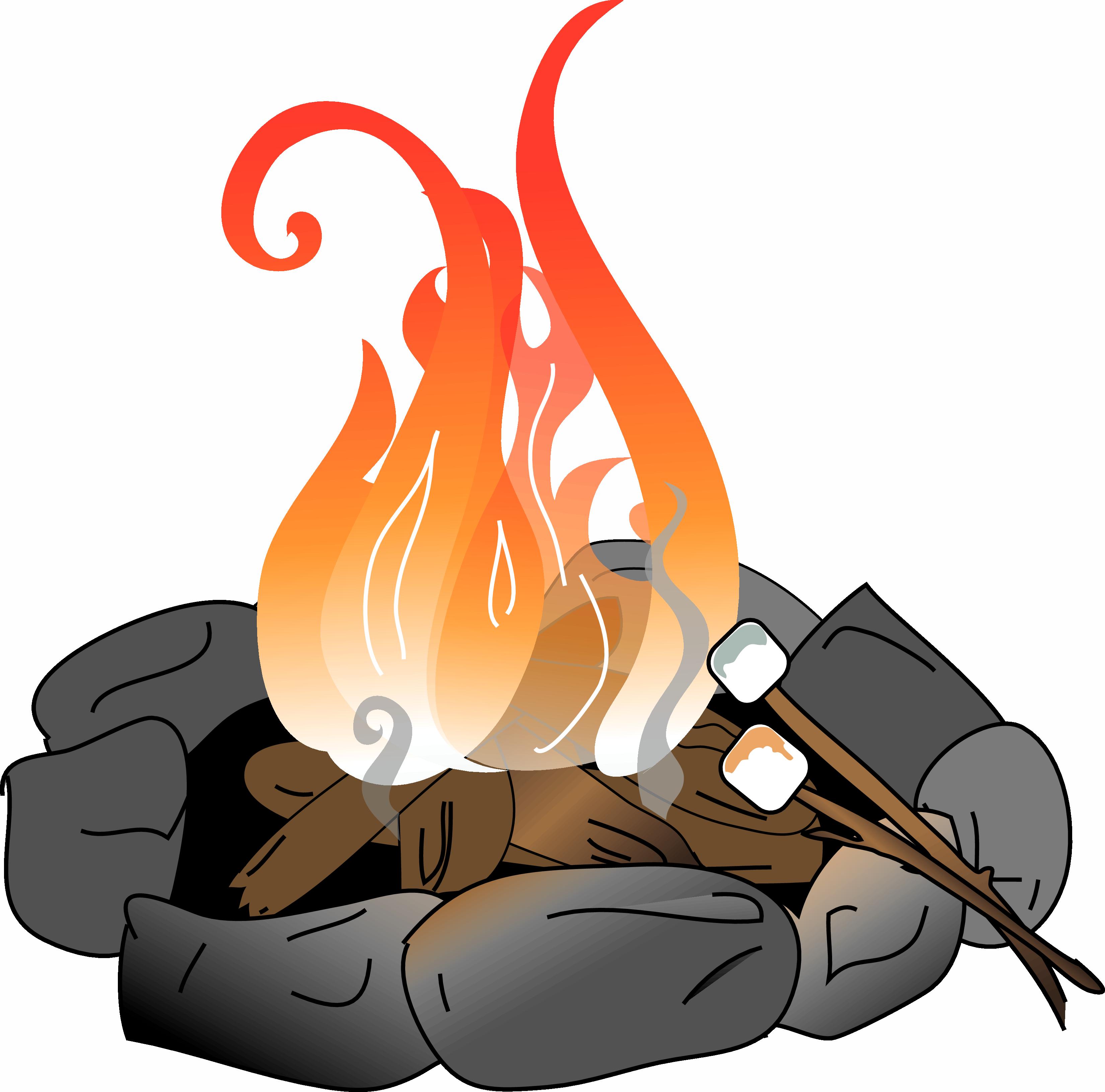 Firepit Clipart.
