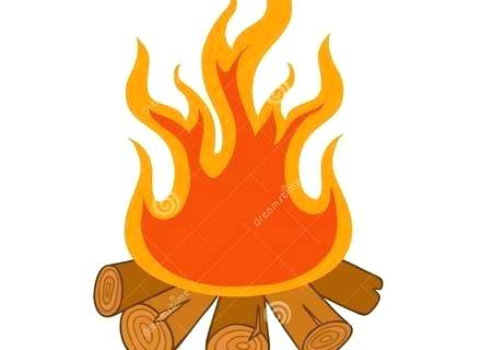 fire pit clipart free.