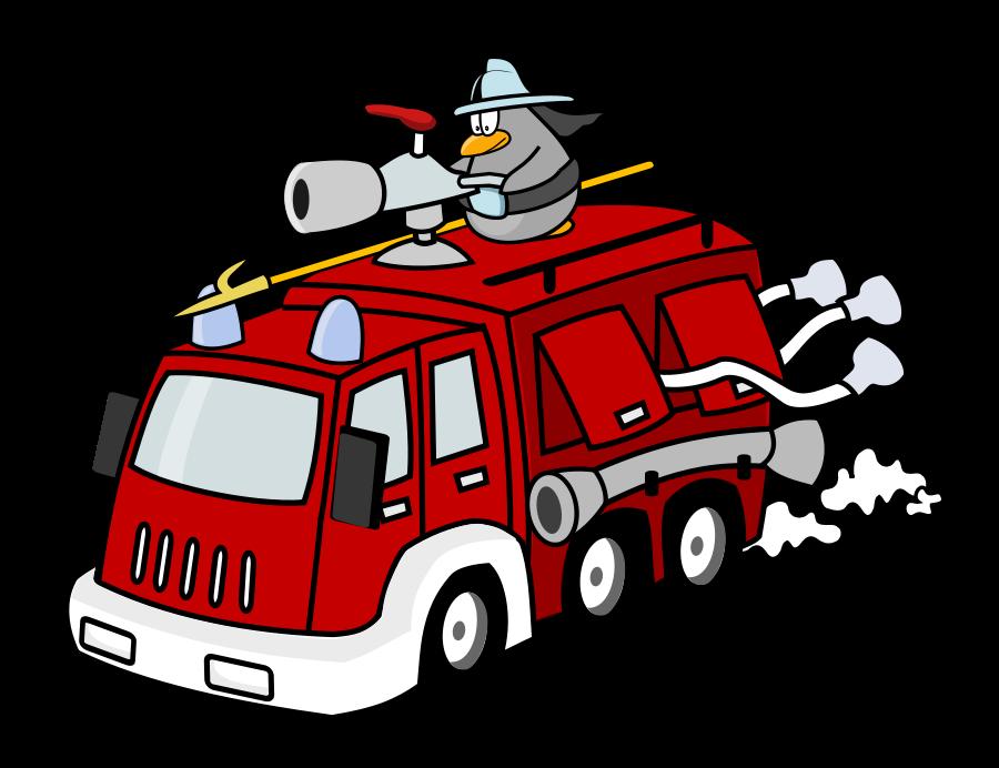 Fire engine Fire station Fire department Firefighter Clip.