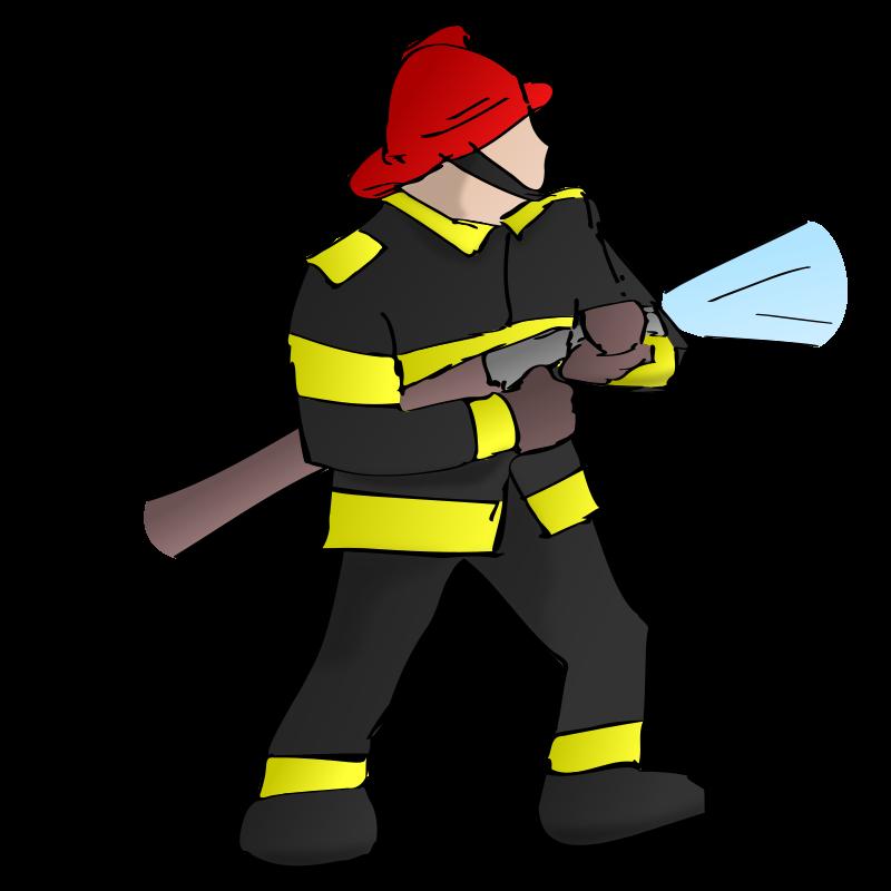 Firefighter Fire department Firefighting Clip art.