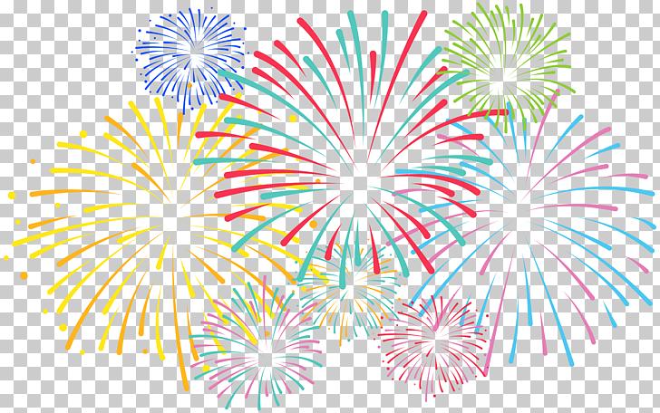 Pattern, Fireworks Transparent , assorted.