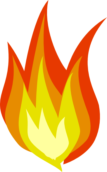 Free flame clipart.