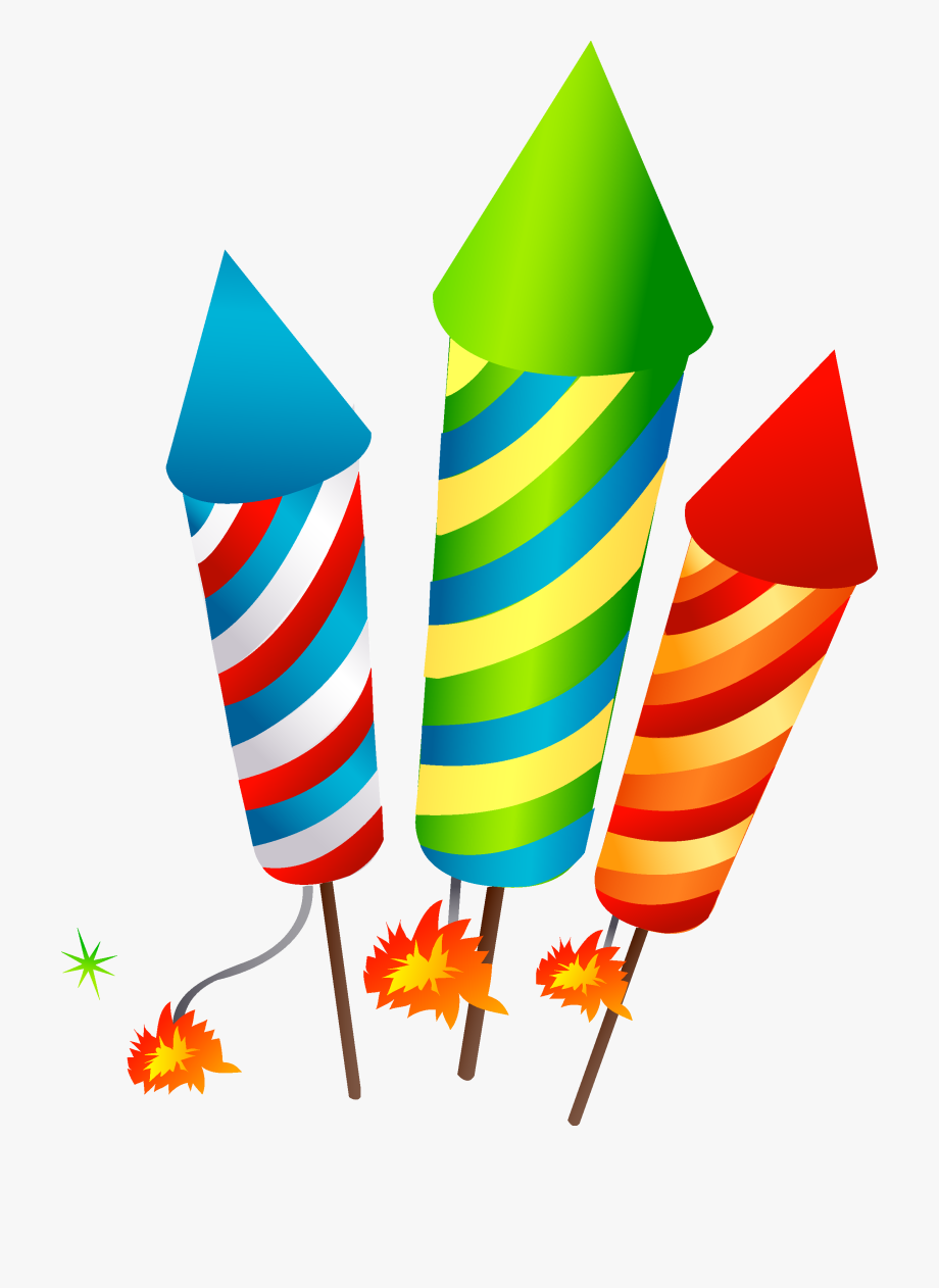 Firecrackers Transprent Png Free.