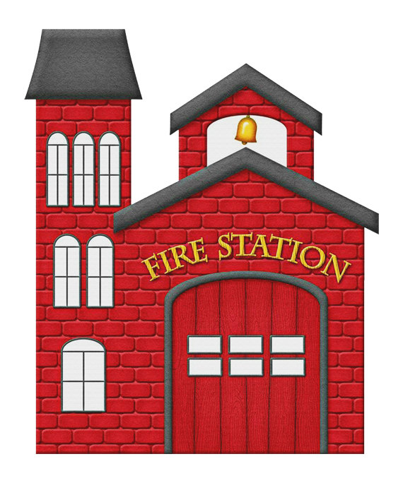 Fire Station Image,RR Fire Station Poster, Fire Station Poster,Wall.