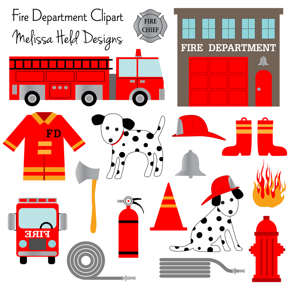 Fire Department Clipart.