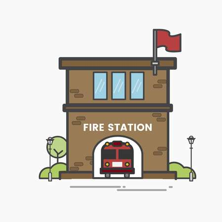 407 Firehouse Stock Illustrations, Cliparts And Royalty Free.